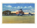 Omaha  Nebraska - US Weather Bureau and Municipal Airport View