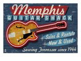 Memphis  Tennessee - Guitar Shack