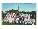 St Petersburg  Florida - Kids and Kubs Softball Team