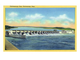 Chattanooga  Tennessee - Panoramic View of the Chickamauga Dam