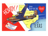 Texas - B-24 Howdy  Bound for Tokyo WWII Promo