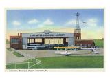 Lancaster  Pennsylvania - Municipal Airport Scene