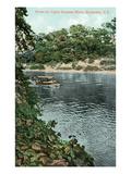 Rochester  New York - Upper Genesee River Scene
