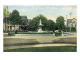 Syracuse  New York - Circle on West Onondaga Street