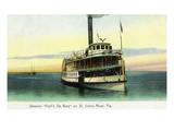 Florida - Fred'k De Bary Steamer on St John's River