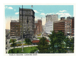 Cleveland  Ohio - Public Square East View
