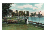 Chautauqua  New York - Chautauqua Institution Pier and Men's Club