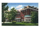 Saratoga Springs  New York - Gideon Putnam Hotel Exterior View