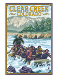 Clear Creek  Colorado - River Rafting