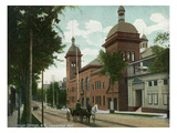 Saratoga Springs  New York - Convention Hall Exterior View