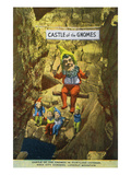 Lookout Mountain  Tennessee - Fairyland Caverns  Interior View of the Castle of Gnomes