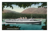 View of Canadian Pacific Railway Liner SS Princess Marguerite