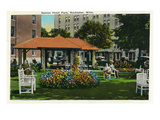 Rochester  Minnesota - View of the Damon Hotel Park