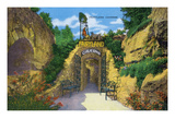 Lookout Mountain  Tennessee - View of Fairyland Caverns Entrance