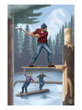 Lumberjack Montage