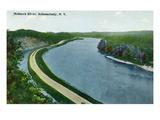 Schenectady  New York - Mohawk River View