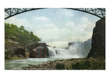Rochester  New York - Lower Falls of the Genesee River