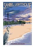 Sanibel Lighthouse - Sanibel  Florida