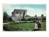 Denver  Colorado - Cheesman Memorial Pavilion View in Park