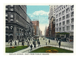 Cleveland  Ohio - Euclid Avenue East from Public Square