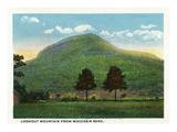 Chattanooga  Tennessee - View of Lookout Mountain from Moccasin Bend