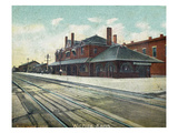 Wichita  Kansas - Exterior View of Rock Island Train Depot