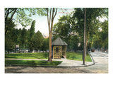 Syracuse  New York - Scenic View in Walnut Park