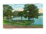 Orlando  Florida - Lake Lucerne Circle Scene