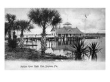 Daytona Beach  Florida - Halifax River Yacht Club Scene