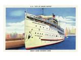 Grand Rapids  Michigan - SS City of Grand Rapids Ship Docked