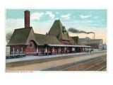 Keokuk  Iowa - Exterior View of Union Station