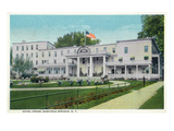 Saratoga Springs  New York - Hotel Gross Exterior View
