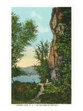 Blue Ridge Mountains  North Carolina - Lover's Leap Scene