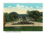 Cleveland  Ohio - Garfield Park Entrance