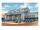 Jacksonville  Florida - Exterior View of Terminal Train Station