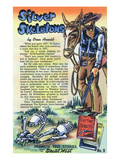 Silver Skeletons Storiette  Cowboy by Two Skeletons