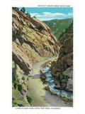 Estes Park  Colorado - Lyons-Allen's Park View of South St Vrain Canyon