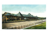 Saratoga Springs  New York - Race Course Grand Stand View