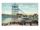 Long Beach  California - Pier View of the Pike