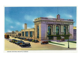 Wichita  Kansas - Exterior View of Union Station