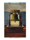 Philadelphia  Pennsylvania - Independence Hall Liberty Bell Scene