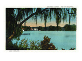 Orlando  Florida - Lake Copeland Scene