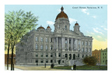 Syracuse  New York - Court House Exterior View