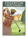 Golfer - Edgerton  Wisconsin