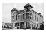 Mankato  Minnesota - Exterior View of Central Fire Station
