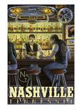 Nashville  Tennessee - Saloon Scene