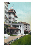 Pasadena  California - Hotel Raymond Main Entrance View