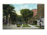 Syracuse  New York - Residences Along James Street