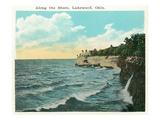 Lakewood  Ohio - Shoreline Scene