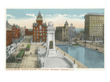 Syracuse  New York - Clinton Square  Soldiers' and Sailors' Monument